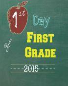 First Grade 2015