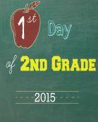 Second Grade 2015