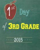 Third Grade 2015