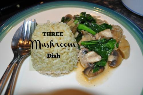 Three Mushroom Dish Recipe