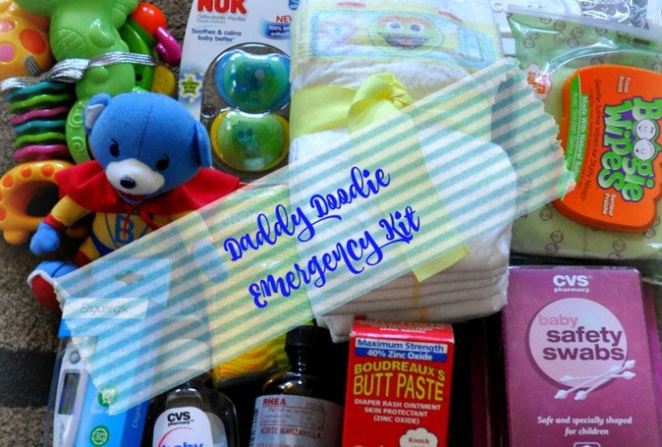 Daddy Emergency Kit with Free Printable