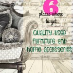 6Places to Get Quality Used Furniture and Home Accessories