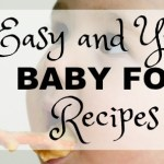7 Easy Baby Food Recipes
