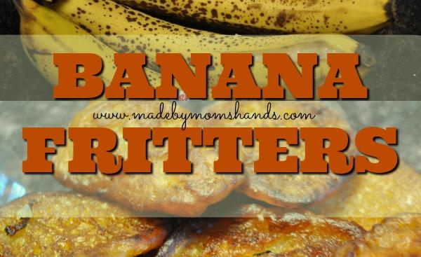 Banana Fritters Recipe (Maruya or Sinangdayan)