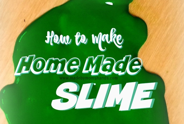 How to Make Slime at Home