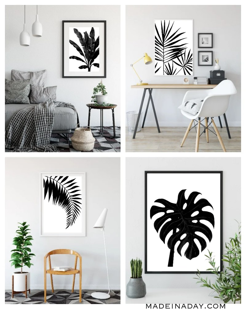 Large Of Black And White Wall Art