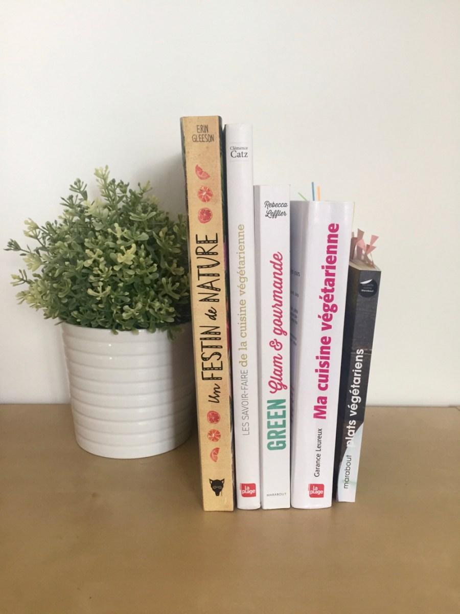 Mes livres de recettes végétariennes