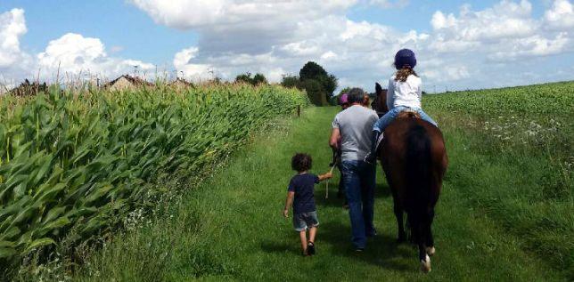 La Miss et sa passion du cheval