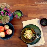 Un jour de pluie dans la cuisine... Le risotto courgette-champignons