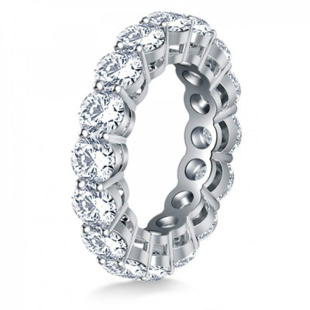 diamond eternity wedding band 5 00 ct diamond eternity wedding band 5 00 ct Ladies Round Cut Diamond Eternity Wedding Band