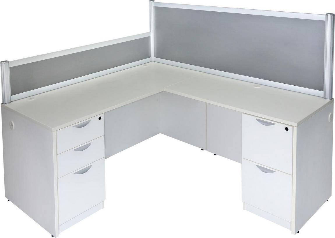 Picturesque Privacy Panels L Shaped Desk Uk L Shaped Desk Sale L Shape Desk L Shape Desk Privacy Panels Images houzz-02 White L Shaped Desk