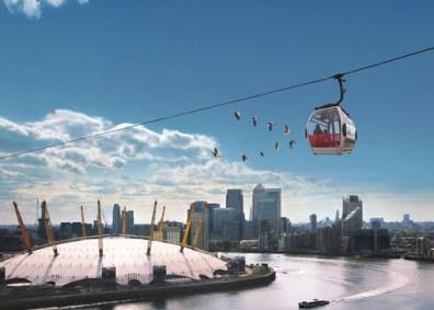 Teleférico de Londres (Emirates Air Line) - madlyluv.com