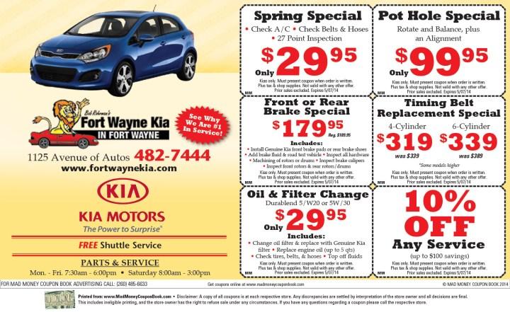 Plasma car coupon