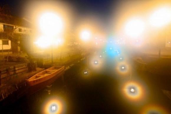 倉敷美観地区ライトアップ