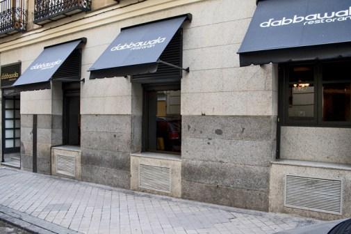 Dabbawala en la calle Españoleto