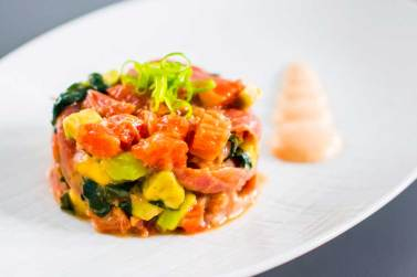 La cocina de restaurante Bacira Madrid