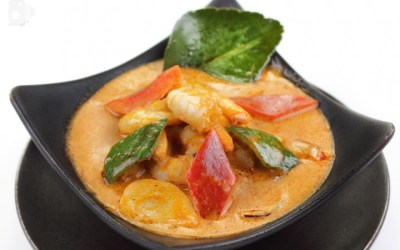 Yellow Curry Shrimp