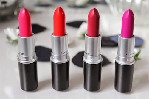 Rouges à lèvres Mac - Mes petits nouveaux