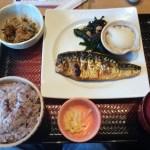 【定食】大戸屋 亀戸駅前店にて、さばの塩焼き定食を食べてきた【亀戸】