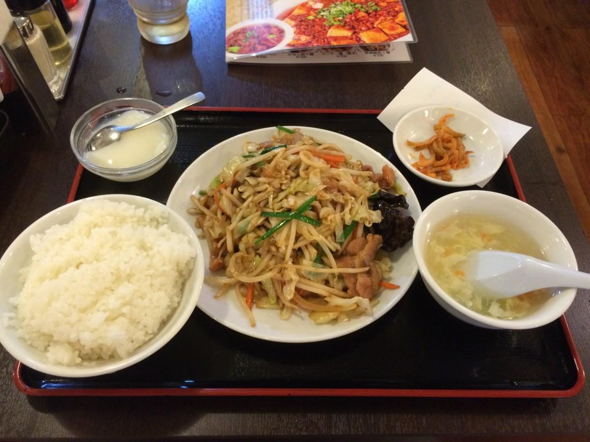 【錦糸町】星宿飯店 (セイシュクハンテン)、豚肉と野菜炒め定食を食べてきた⭐︎中華料理店でランチ⭐︎