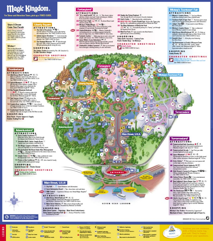 Map 2013 Photos Good Pix Gallery. Printable Map Of Magic Kingdom 2016 ...