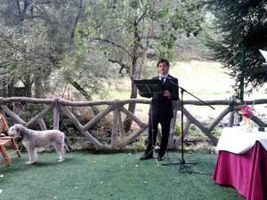 maestro de ceremonias Oficante de bodas civiles madrid