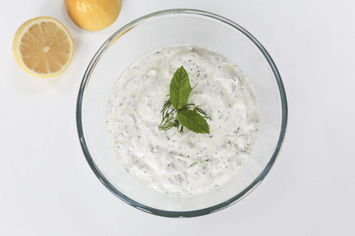 Greek salad days: Tasty tzatziki.