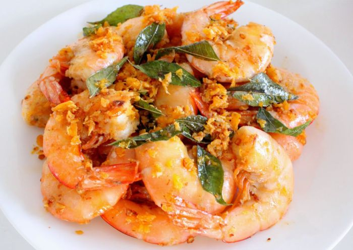 prawns-with-butter-sauce