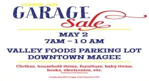 Cougar Cub GARAGE SALE @ GARAGE SALE @ VALLEY FOODS PARKING LOT