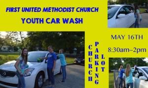 BENEFIT CAR WASH FIRST UNITED METHODIST CHURCH MAGEE @ BENEFIT CAR WASH   Magee   Mississippi   United States