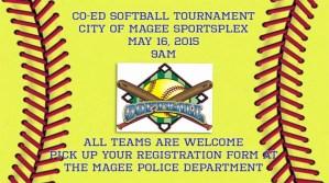 CO-ED SOFTBALL TOURNAMENT @ MAGEE CITY SPORTSPLEX