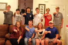 SCA Presents Rings to Outstanding Athletes