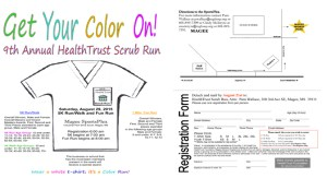 9th Annual HealthTrust Scrub Run @ SCRUB RUN