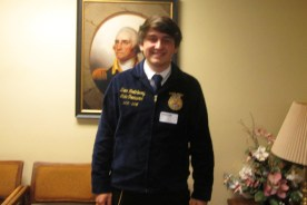 FFA State Officer Visits Simpson County Technical Center