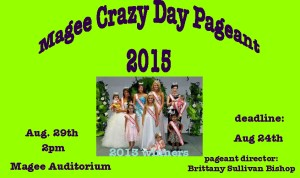 2015 CRAZY DAY PAGEANT @ MAGEE SCHOOL AUDITORIUM