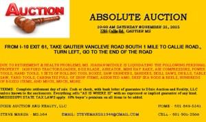 November 21 Auction
