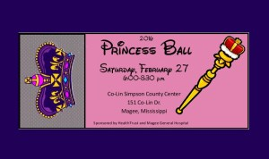 2016 PRINCESS BALL @ 2016 PRINCESS BALL | Mendenhall | Mississippi | United States