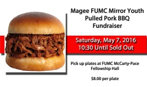 FUMC Pulled Pork Fundraiser
