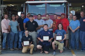 F. J. Dickey Fire Department Scholarship Awarded to 4 Seniors