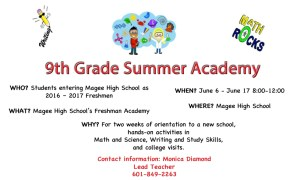 Magee High School Freshman Academy & Orientation