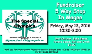 Special Fundraiser Plate Lunch