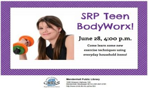Teen Body Worx Mendenhall Library