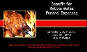 Robbie Gates Benefit
