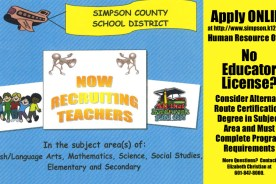 Simpson County School District Recruiting Teachers