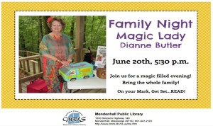 Magical Family Nigh @ Mendenhall Library