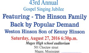 Gospel Jubilee Singing