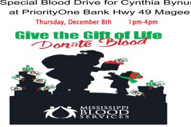 Blood Drive for Cynthia Bynum