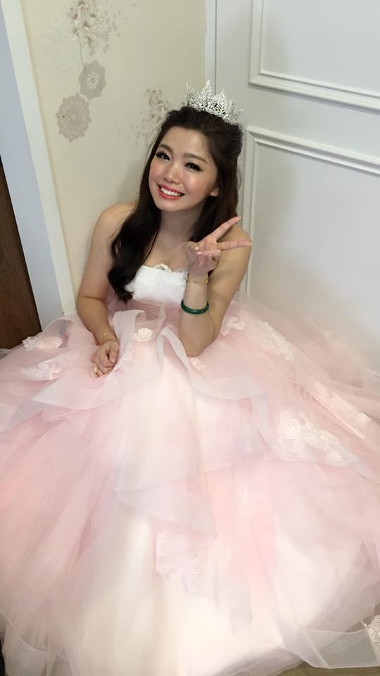 [台北新秘}元元訂結婚現場新娘造型