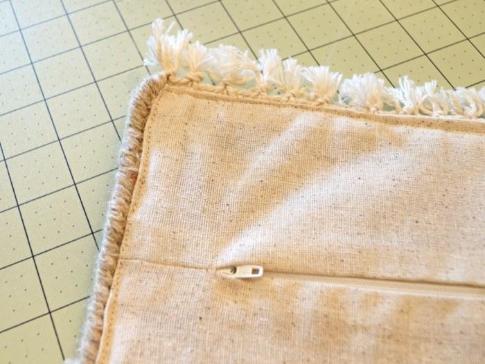 zipper-back-rug-sample-pillow-diy-decor- fabric