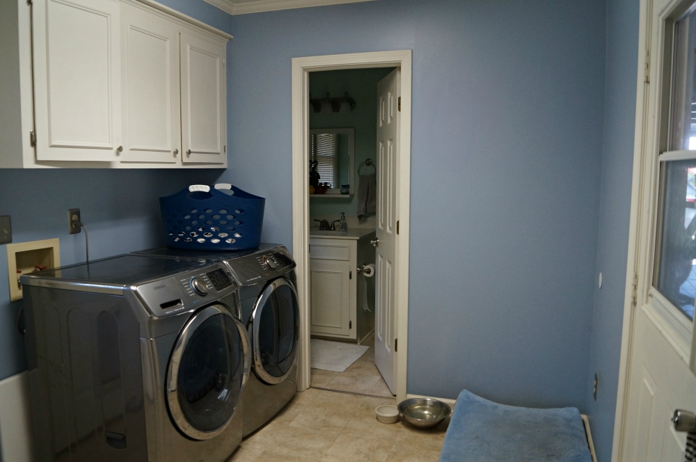 One Room Challenge Laundry Room - Week One